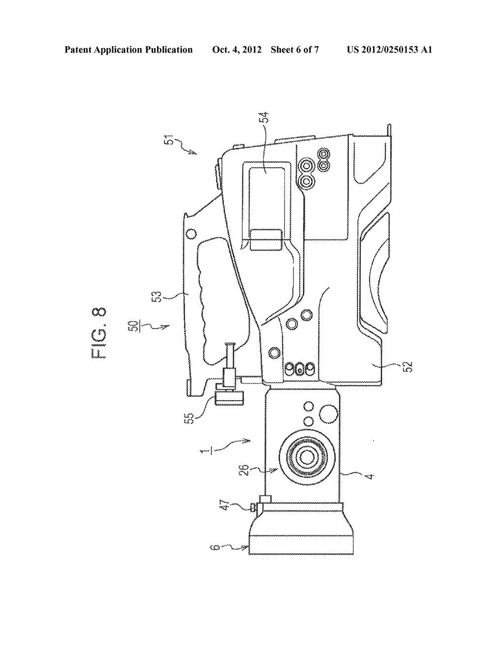TWO-LENS DEVICE AND STEREOSCOPIC IMAGING APPARATUS WITH TWO-LENS DEVICE - diagram, schematic, and image 07