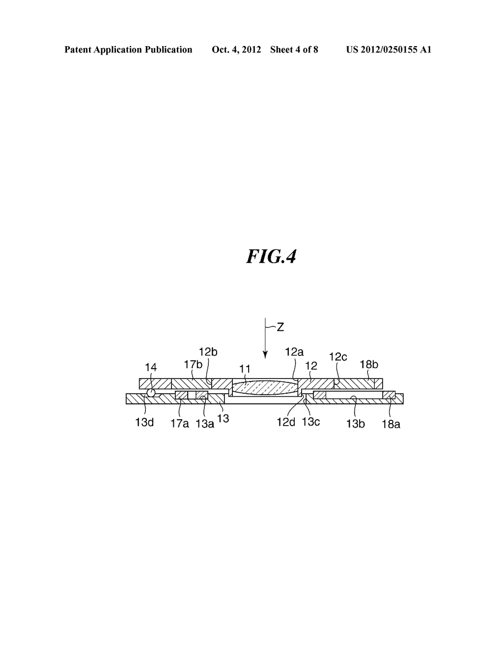 OPTICAL APPARATUS WITH MOVABLE MEMBER FOR SHAKE CORRECTION - diagram, schematic, and image 05