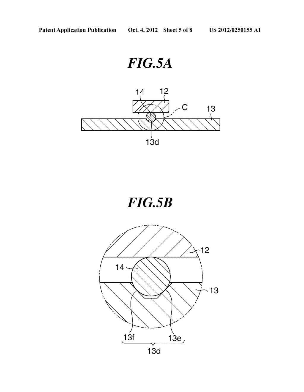 OPTICAL APPARATUS WITH MOVABLE MEMBER FOR SHAKE CORRECTION - diagram, schematic, and image 06