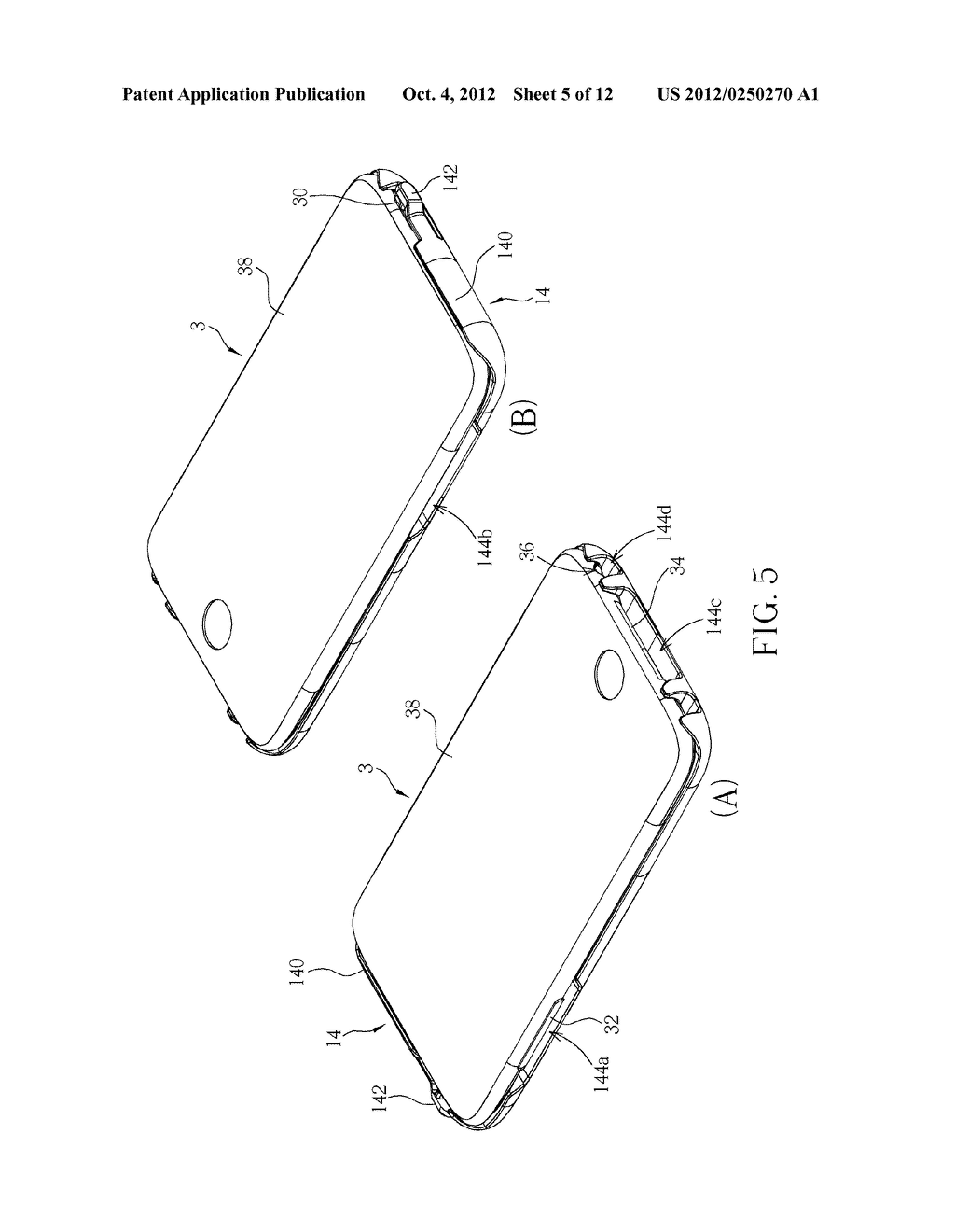 PROTECTIVE CASING ADAPTED FOR ELECTRONIC DEVICE - diagram, schematic, and image 06