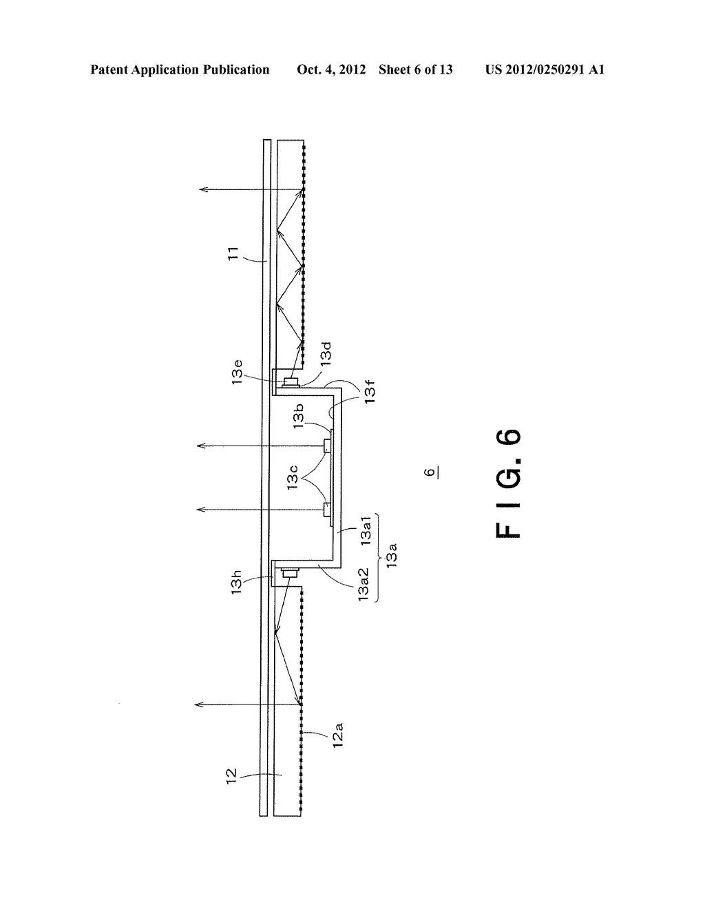 BACKLIGHT DEVICE AND DISPLAY APPARATUS - diagram, schematic, and image 07