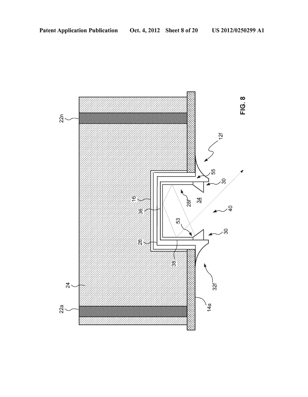 PARTIALLY RECESSED LUMINAIRE - diagram, schematic, and image 09