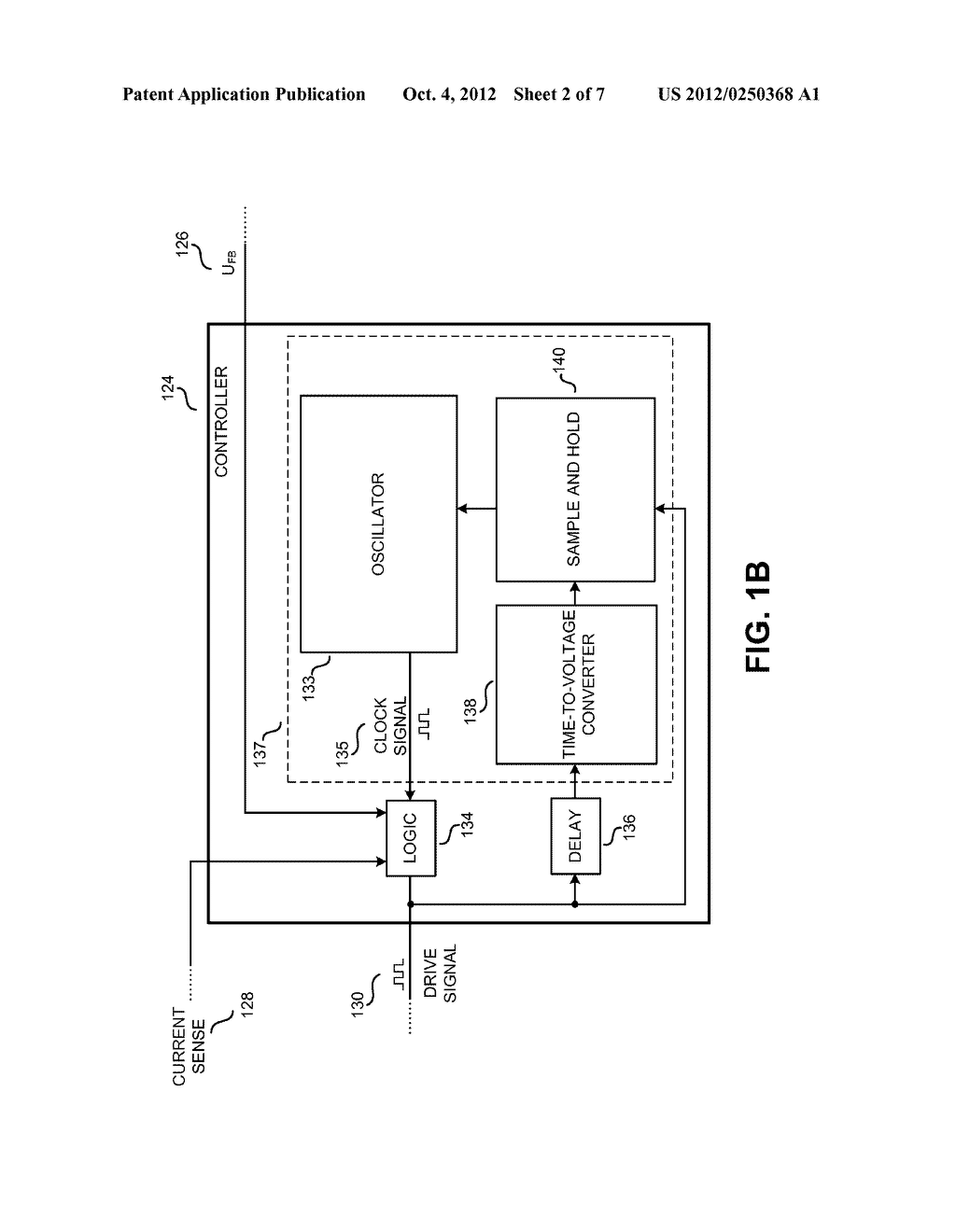 POWER SUPPLY CONTROLLER WITH INPUT VOLTAGE COMPENSATION FOR EFFICIENCY AND     MAXIMUM POWER OUTPUT - diagram, schematic, and image 03
