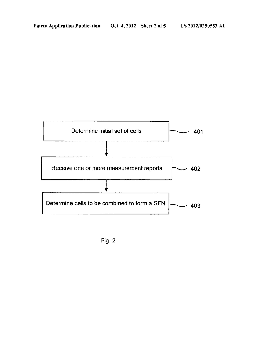 METHOD AND APPARATUS FOR COMPOSING A SET OF CELLS IN A RADIO NETWORK - diagram, schematic, and image 03