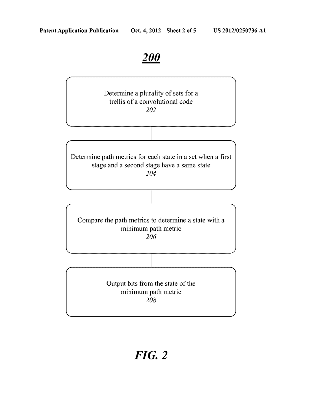 SYSTEM, METHOD AND APPARATUS FOR TAIL BITING CONVOLUTIONAL CODE DECODING - diagram, schematic, and image 03