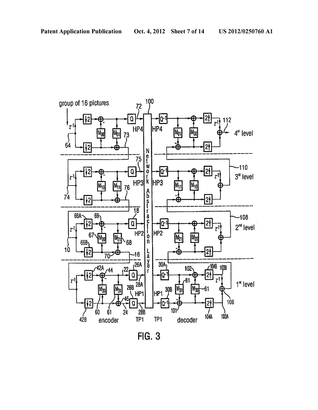 Apparatus and Method for Generating a Coded Video Sequence and for     Decoding a Coded Video Sequence by Using an Intermediate Layer Residual     Value Prediction - diagram, schematic, and image 08