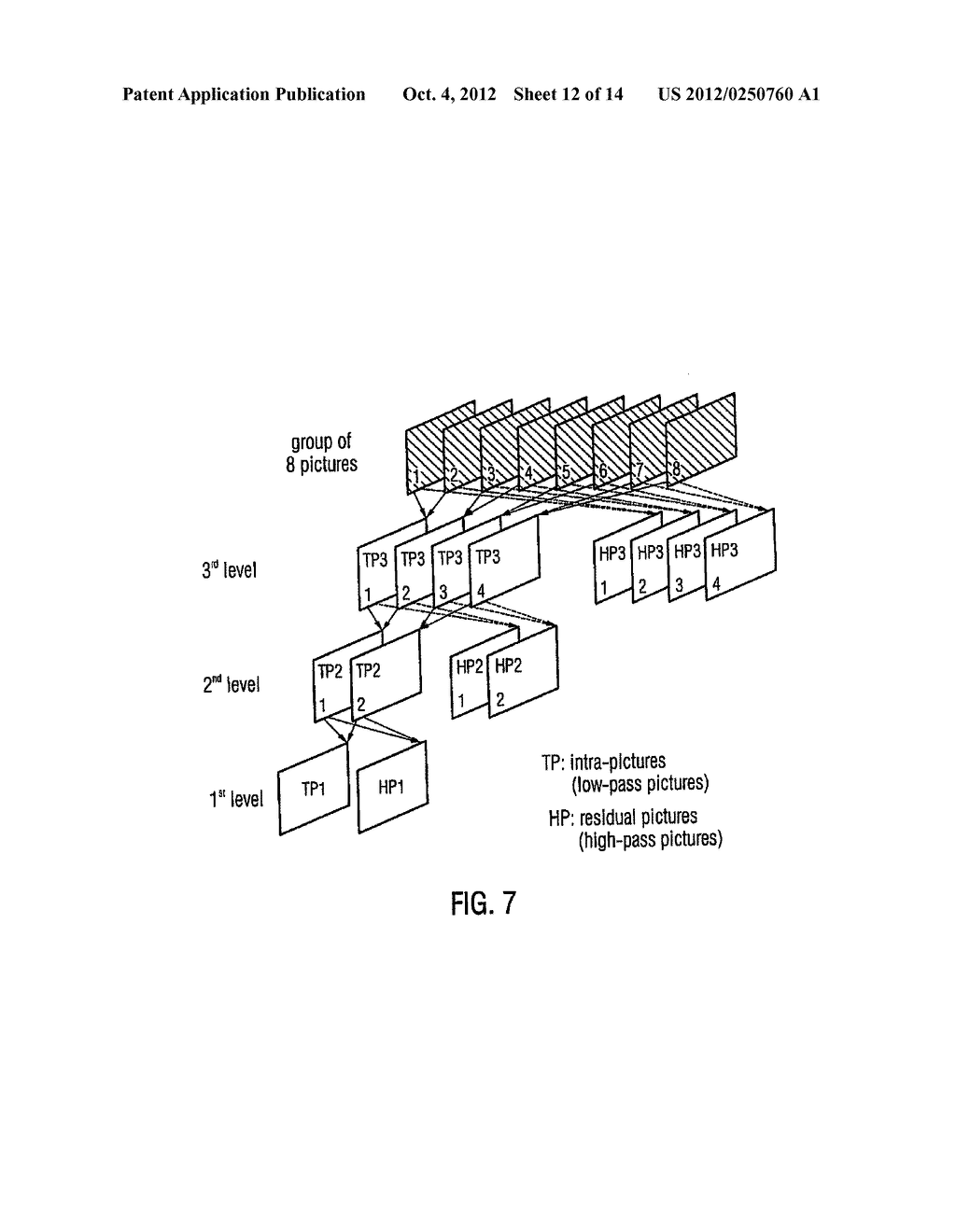 Apparatus and Method for Generating a Coded Video Sequence and for     Decoding a Coded Video Sequence by Using an Intermediate Layer Residual     Value Prediction - diagram, schematic, and image 13
