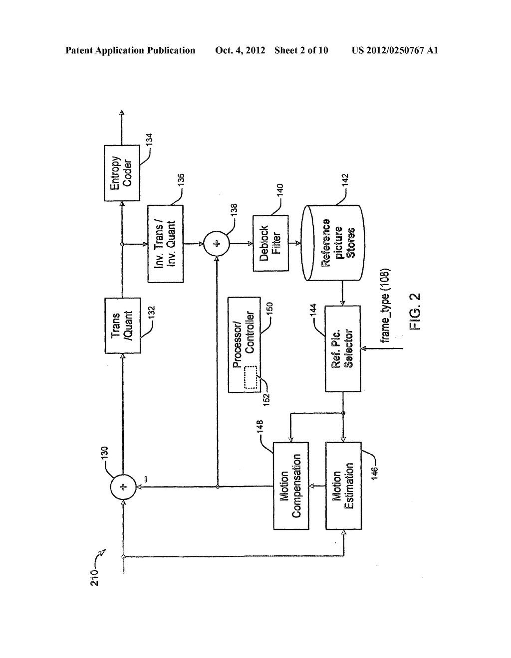 METHOD AND APPARATUS FOR BI-DIRECTIONAL PREDICTION WITHIN P-SLICES - diagram, schematic, and image 03