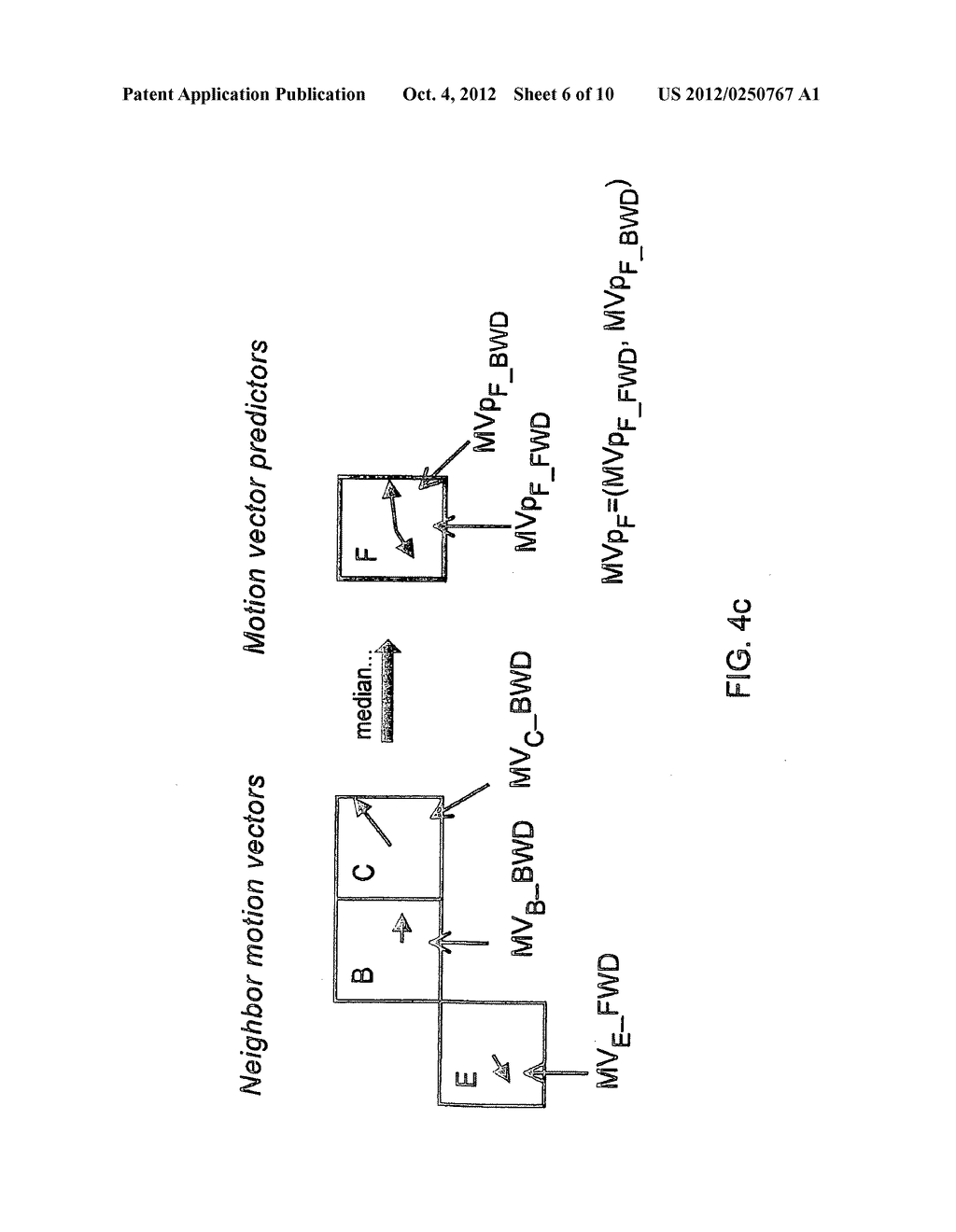 METHOD AND APPARATUS FOR BI-DIRECTIONAL PREDICTION WITHIN P-SLICES - diagram, schematic, and image 07