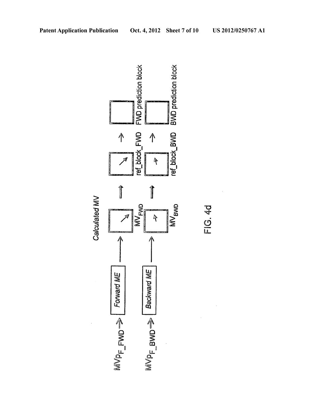 METHOD AND APPARATUS FOR BI-DIRECTIONAL PREDICTION WITHIN P-SLICES - diagram, schematic, and image 08