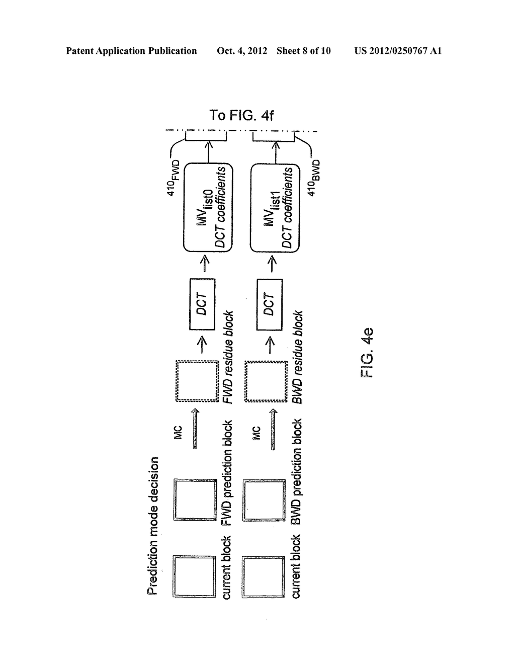METHOD AND APPARATUS FOR BI-DIRECTIONAL PREDICTION WITHIN P-SLICES - diagram, schematic, and image 09