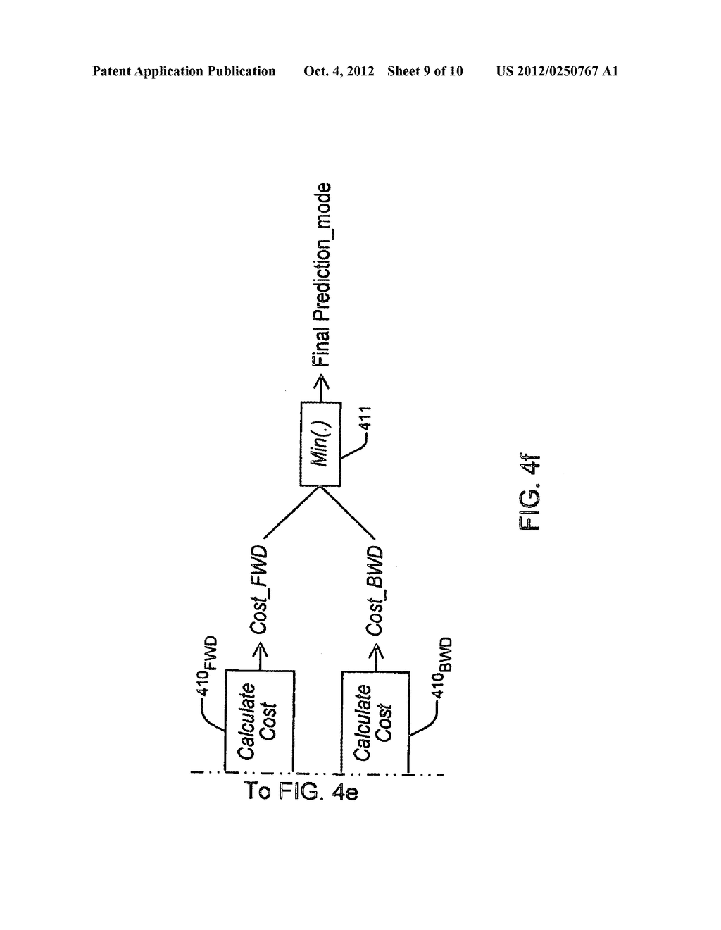 METHOD AND APPARATUS FOR BI-DIRECTIONAL PREDICTION WITHIN P-SLICES - diagram, schematic, and image 10