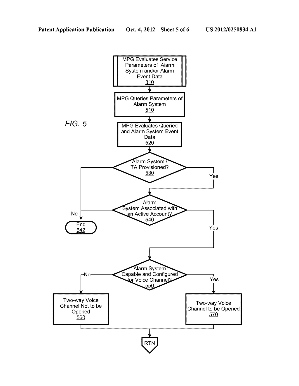 DELIVERY OF ALARM SYSTEM EVENT DATA AND AUDIO - diagram, schematic, and image 06