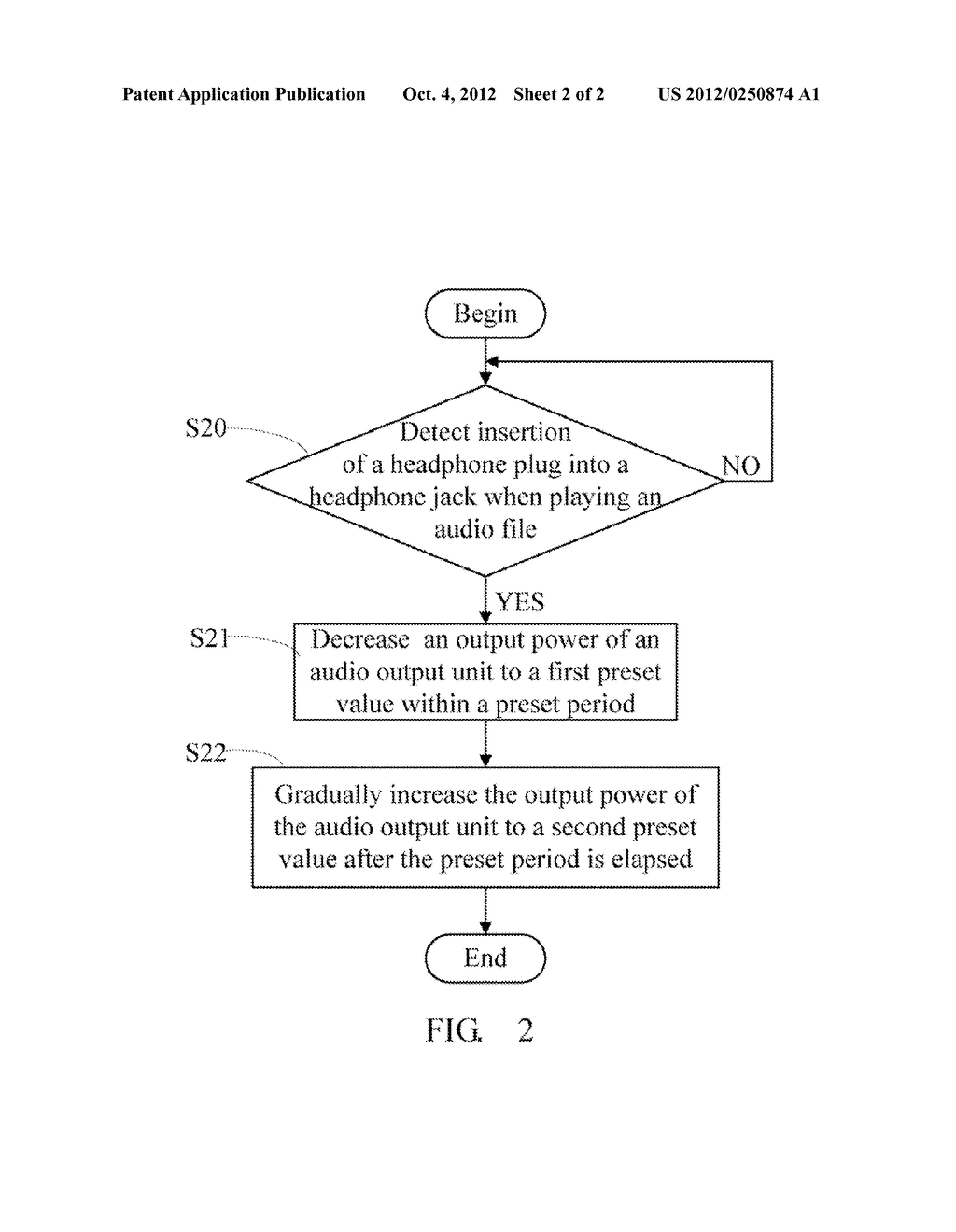 AUDIO DEVICE AND METHOD FOR AUDIO OUTPUTTING - diagram, schematic, and image 03