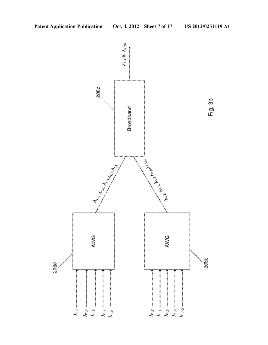Multiplexer and Modulation Arrangements for Multi-Carrier Optical Modems - diagram, schematic, and image 08