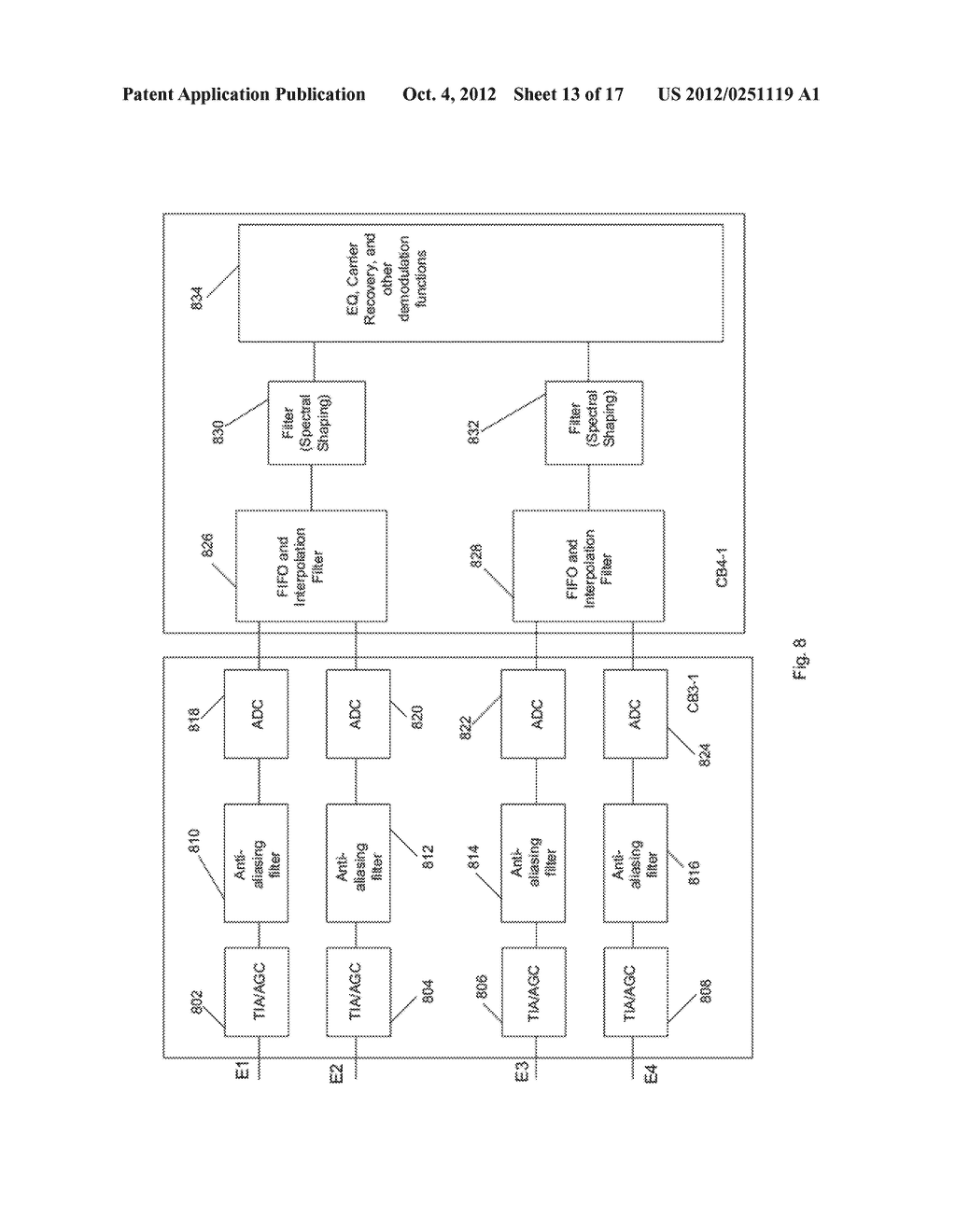 Multiplexer and Modulation Arrangements for Multi-Carrier Optical Modems - diagram, schematic, and image 14