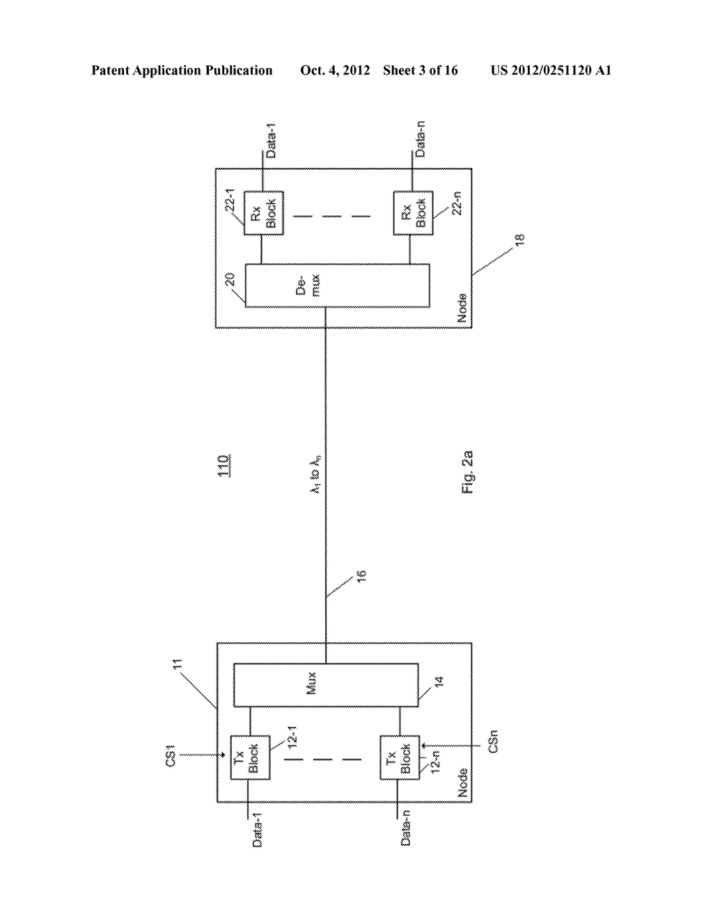 Multiplexer and Modulation Arrangements for Multi-Carrier Optical Modems - diagram, schematic, and image 04