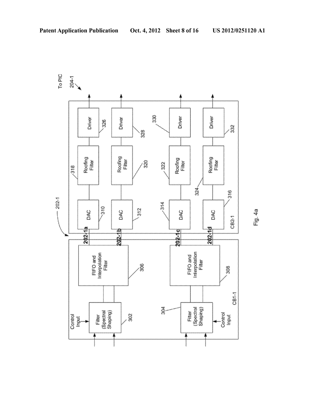 Multiplexer and Modulation Arrangements for Multi-Carrier Optical Modems - diagram, schematic, and image 09