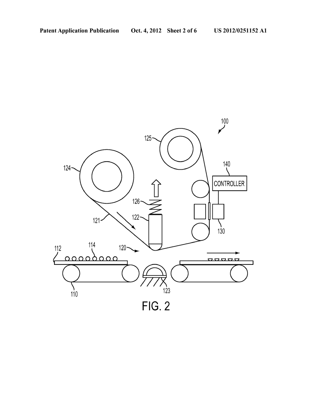 APPARATUS AND METHOD FOR MARKING MATERIAL FIX LEVEL CONTROL IN A PRINTING     APPARATUS - diagram, schematic, and image 03