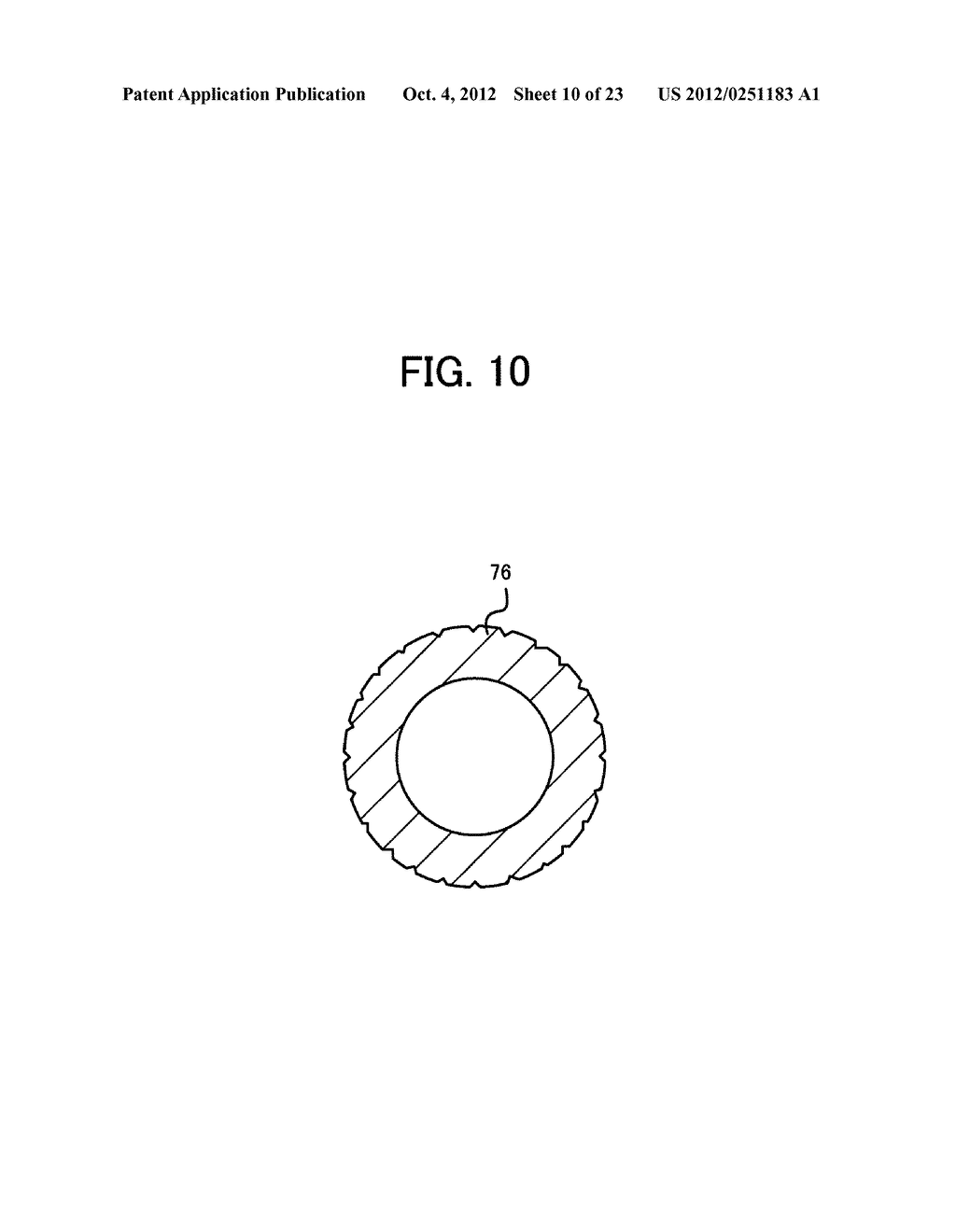 LIGHT IRRADIATION ELEMENT, IMAGE FORMING STRUCTURE, AND IMAGE FORMING     APPARATUS - diagram, schematic, and image 11