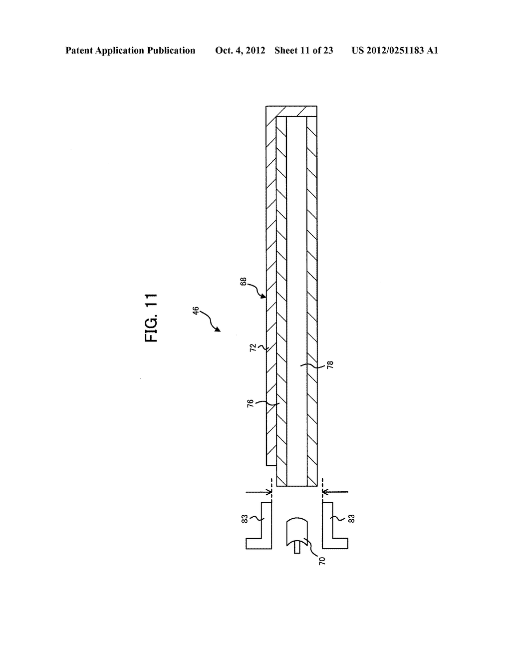 LIGHT IRRADIATION ELEMENT, IMAGE FORMING STRUCTURE, AND IMAGE FORMING     APPARATUS - diagram, schematic, and image 12