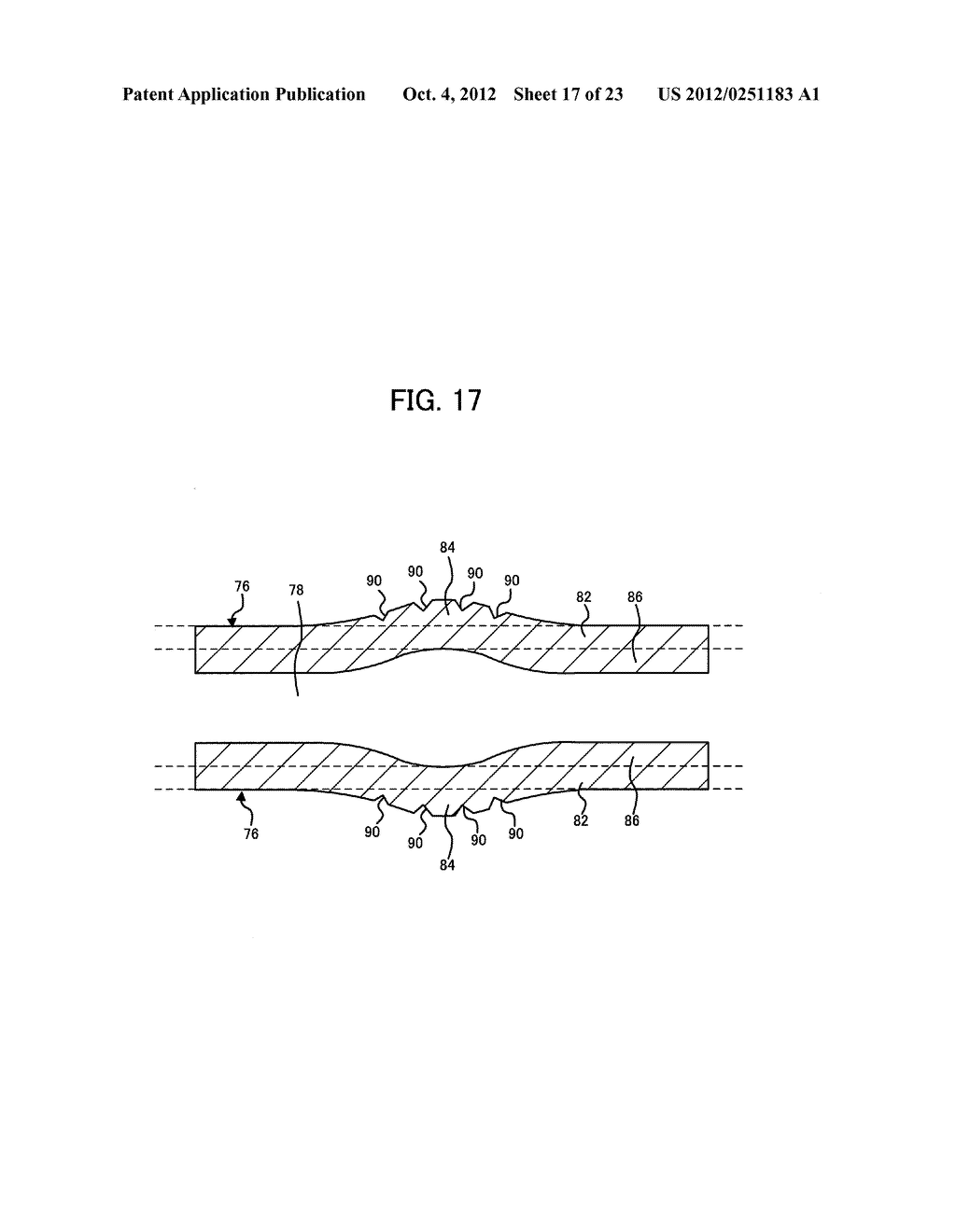 LIGHT IRRADIATION ELEMENT, IMAGE FORMING STRUCTURE, AND IMAGE FORMING     APPARATUS - diagram, schematic, and image 18