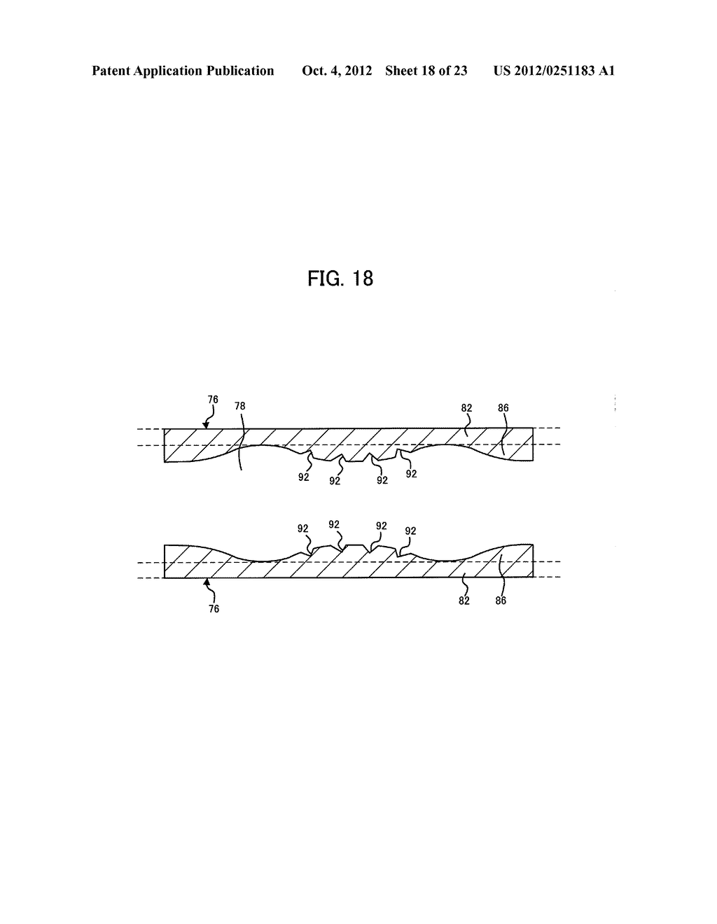 LIGHT IRRADIATION ELEMENT, IMAGE FORMING STRUCTURE, AND IMAGE FORMING     APPARATUS - diagram, schematic, and image 19