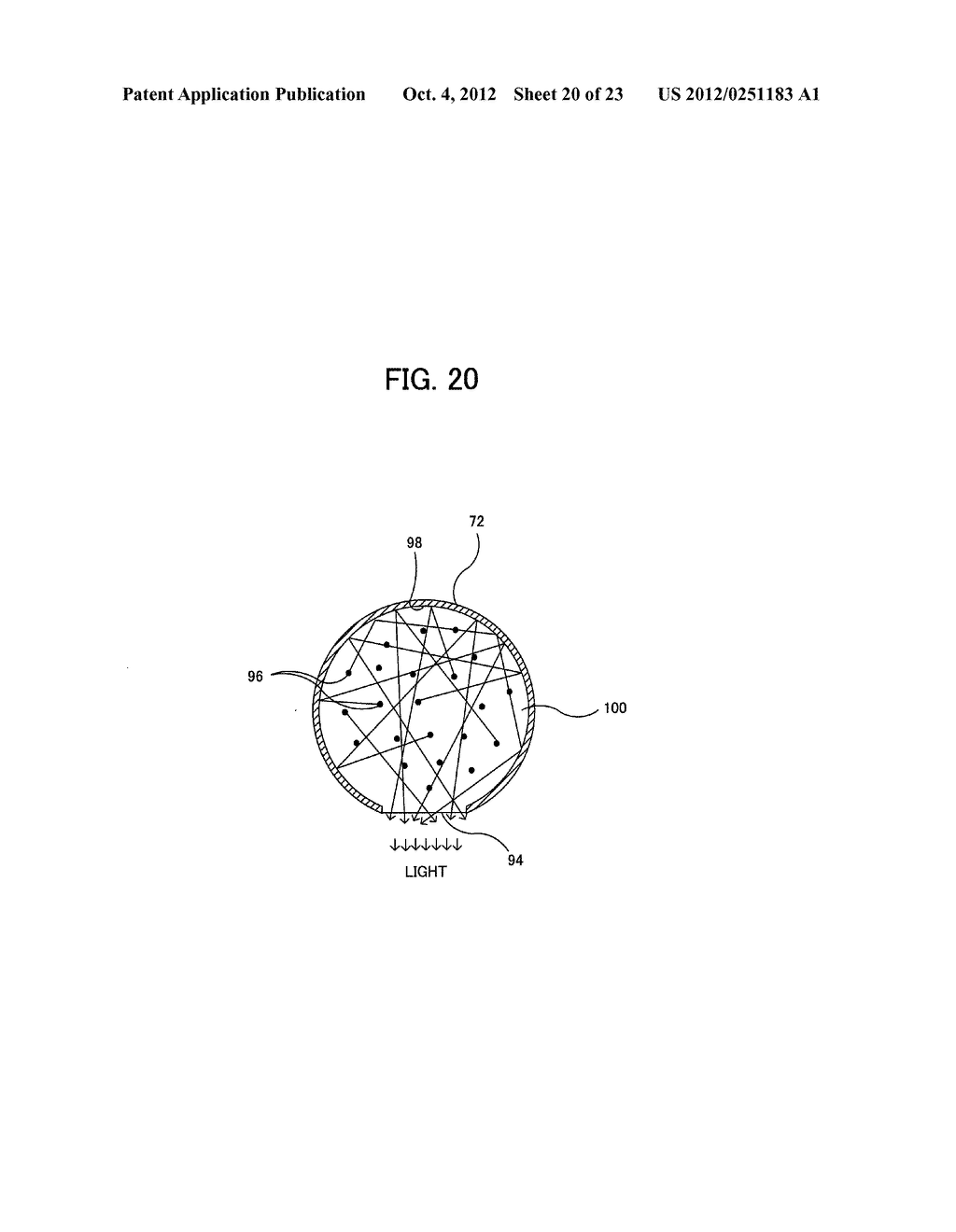 LIGHT IRRADIATION ELEMENT, IMAGE FORMING STRUCTURE, AND IMAGE FORMING     APPARATUS - diagram, schematic, and image 21