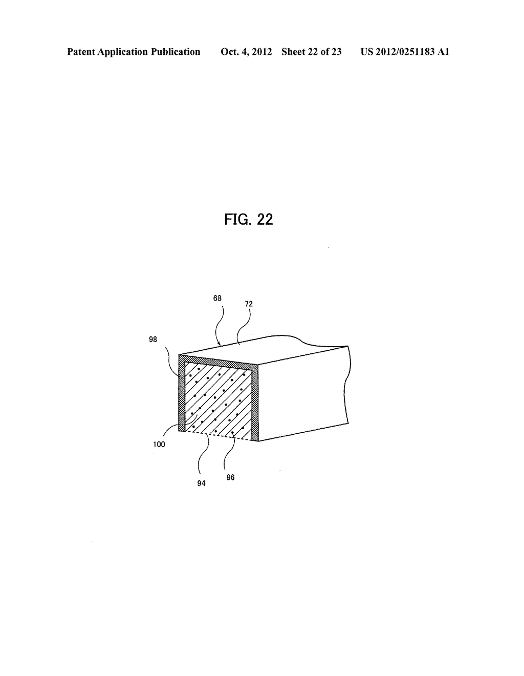 LIGHT IRRADIATION ELEMENT, IMAGE FORMING STRUCTURE, AND IMAGE FORMING     APPARATUS - diagram, schematic, and image 23