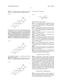 TRITERPENE DERIVATIVE AND AGENT FOR PREVENTING OR TREATING CHRONIC     HEPATITIS C diagram and image