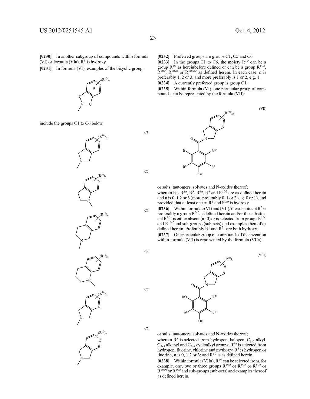 Therapeutic Combinations Of Hydroxybenzamide Derivatives As Inhibitors Of     HSP90 - diagram, schematic, and image 24