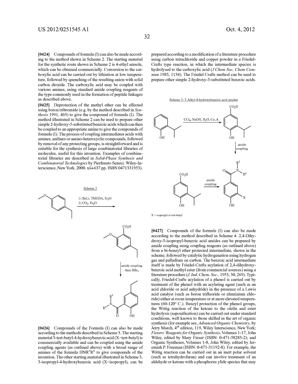 Therapeutic Combinations Of Hydroxybenzamide Derivatives As Inhibitors Of     HSP90 - diagram, schematic, and image 33