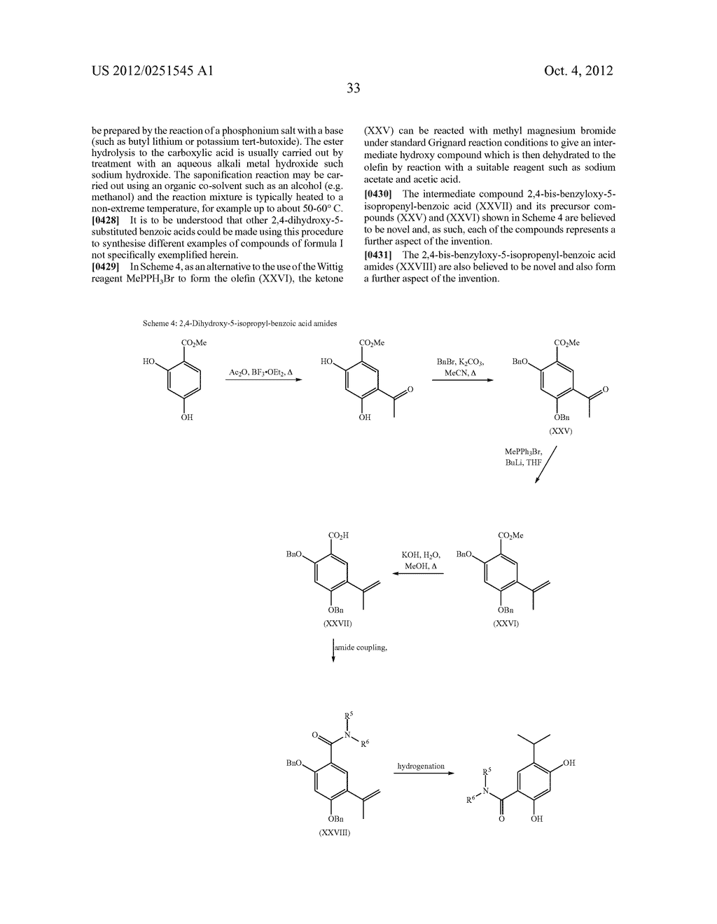 Therapeutic Combinations Of Hydroxybenzamide Derivatives As Inhibitors Of     HSP90 - diagram, schematic, and image 34