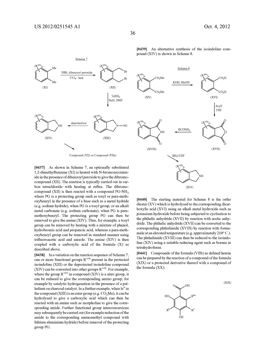 Therapeutic Combinations Of Hydroxybenzamide Derivatives As Inhibitors Of     HSP90 - diagram, schematic, and image 37