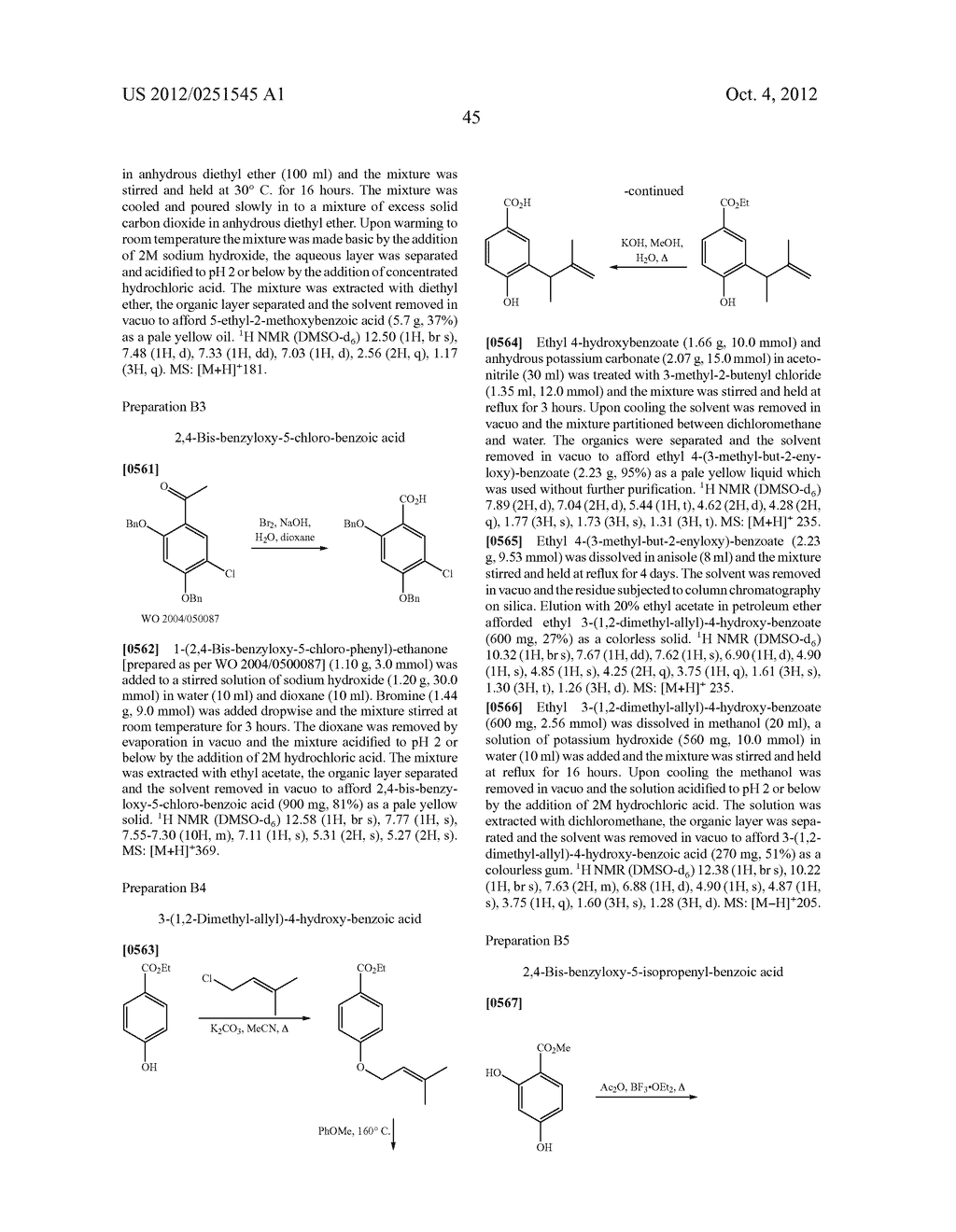 Therapeutic Combinations Of Hydroxybenzamide Derivatives As Inhibitors Of     HSP90 - diagram, schematic, and image 46