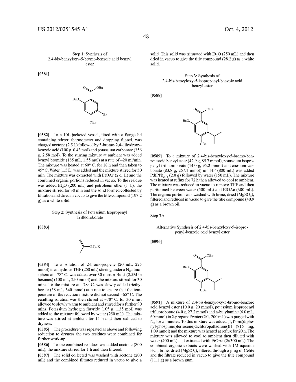 Therapeutic Combinations Of Hydroxybenzamide Derivatives As Inhibitors Of     HSP90 - diagram, schematic, and image 49