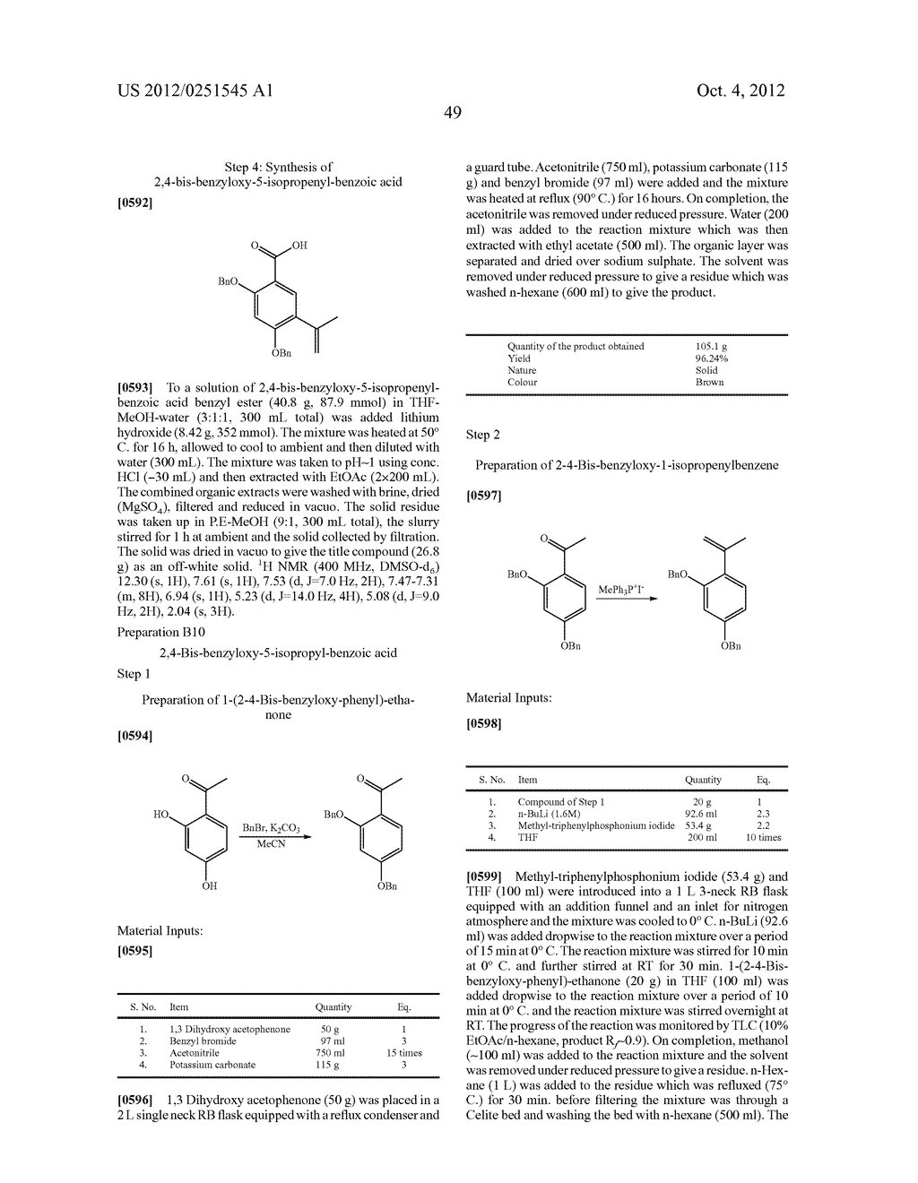 Therapeutic Combinations Of Hydroxybenzamide Derivatives As Inhibitors Of     HSP90 - diagram, schematic, and image 50