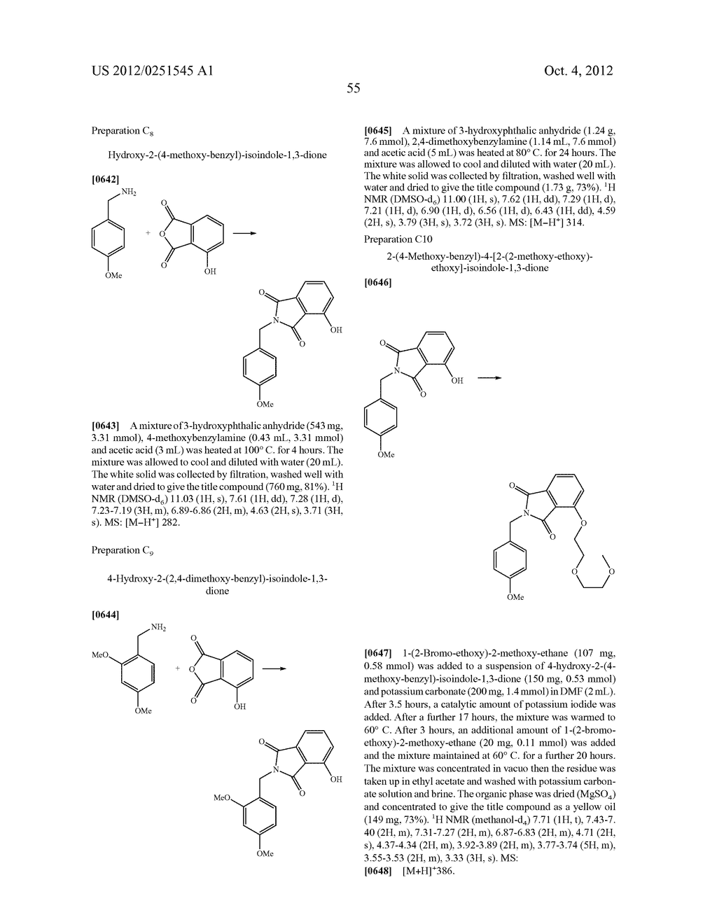 Therapeutic Combinations Of Hydroxybenzamide Derivatives As Inhibitors Of     HSP90 - diagram, schematic, and image 56