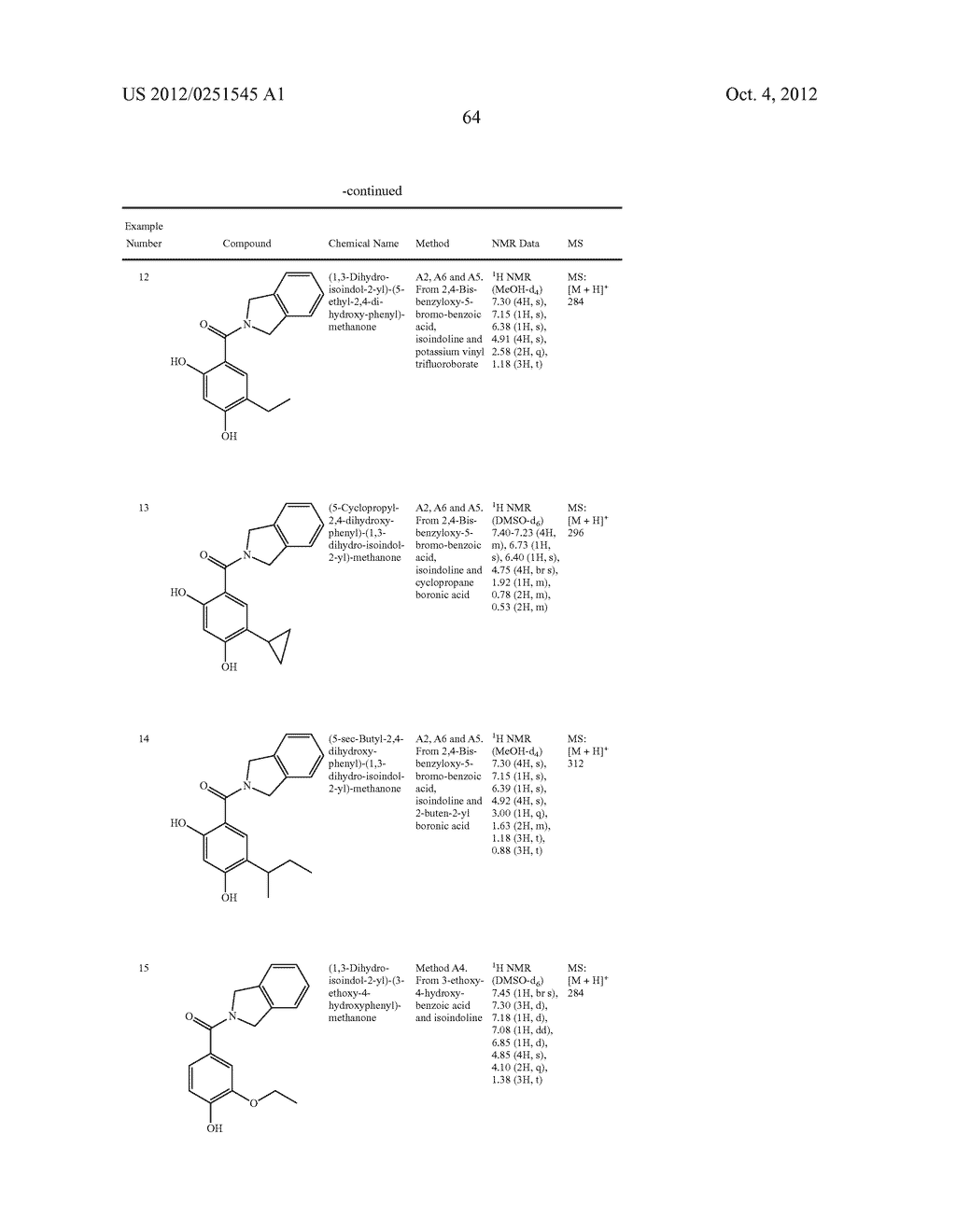 Therapeutic Combinations Of Hydroxybenzamide Derivatives As Inhibitors Of     HSP90 - diagram, schematic, and image 65