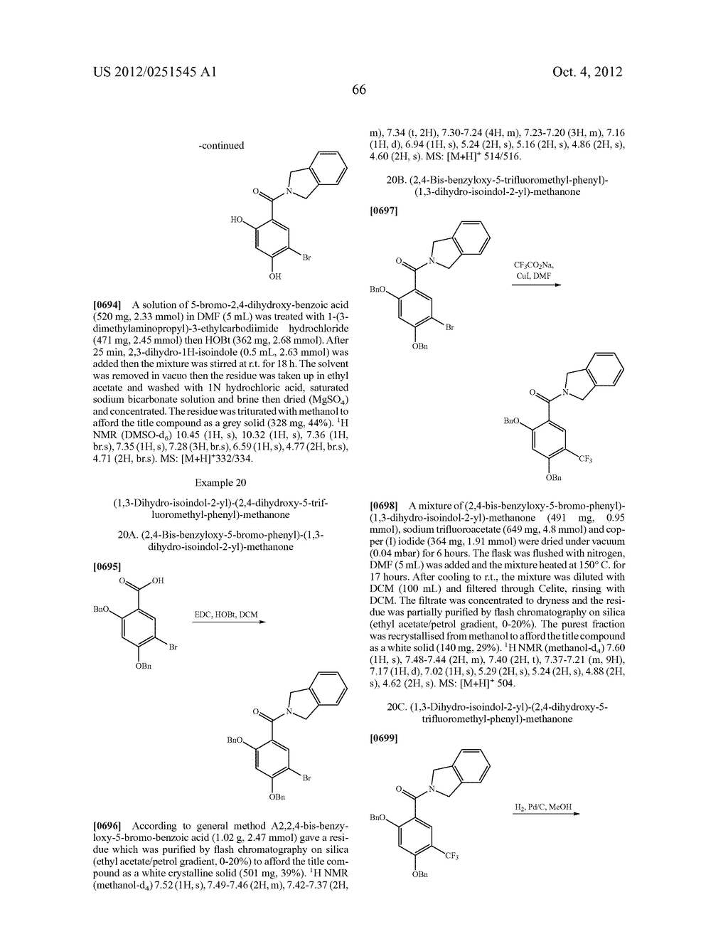 Therapeutic Combinations Of Hydroxybenzamide Derivatives As Inhibitors Of     HSP90 - diagram, schematic, and image 67