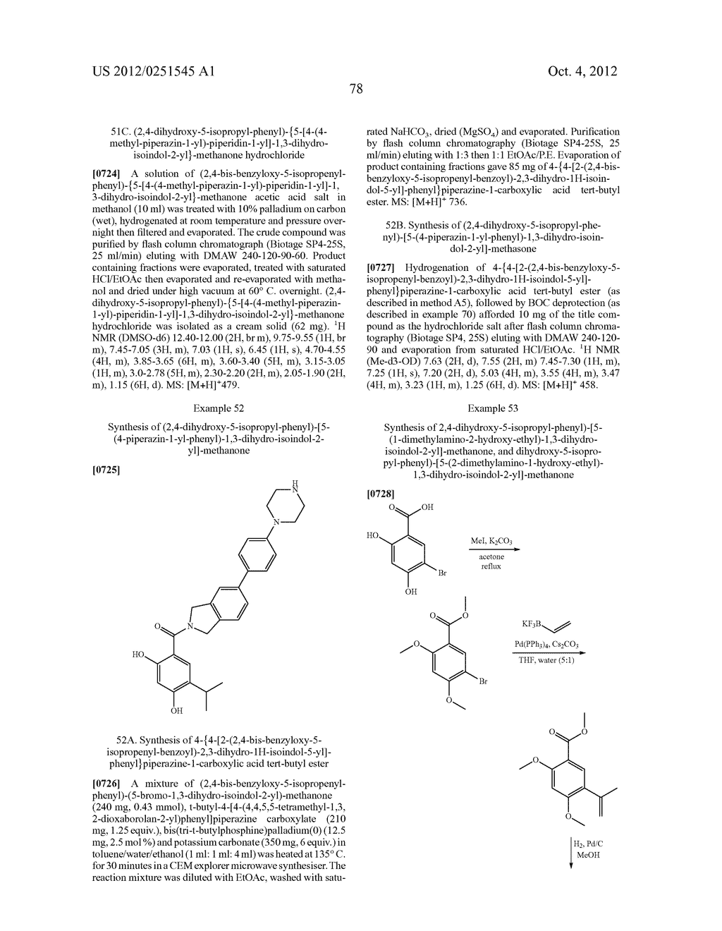 Therapeutic Combinations Of Hydroxybenzamide Derivatives As Inhibitors Of     HSP90 - diagram, schematic, and image 79