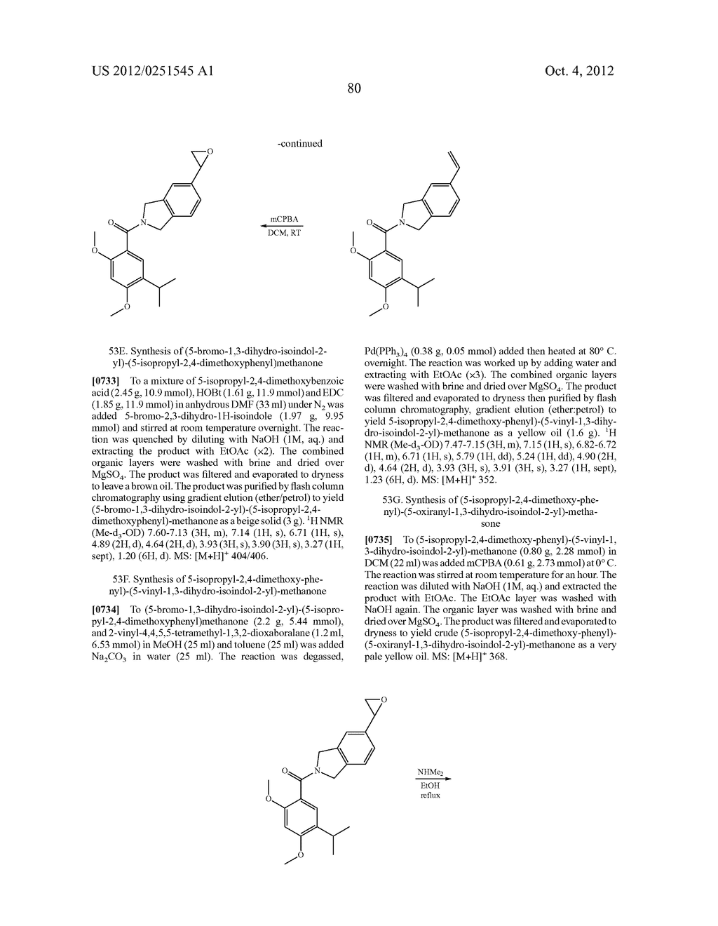 Therapeutic Combinations Of Hydroxybenzamide Derivatives As Inhibitors Of     HSP90 - diagram, schematic, and image 81