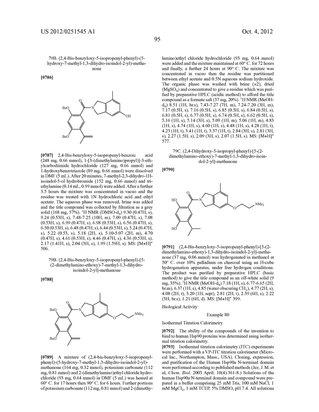 Therapeutic Combinations Of Hydroxybenzamide Derivatives As Inhibitors Of     HSP90 - diagram, schematic, and image 96