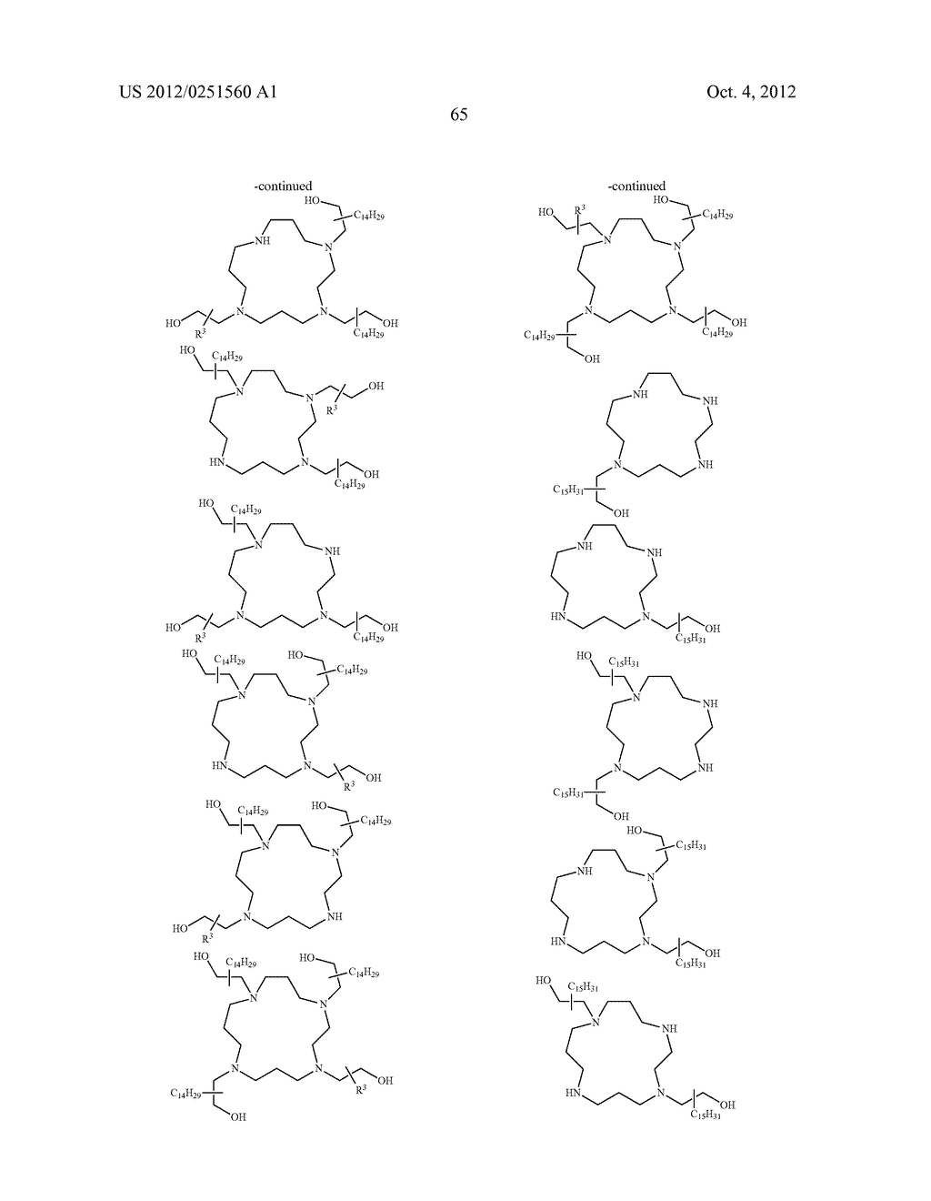 CONJUGATED LIPOMERS AND USES THEREOF - diagram, schematic, and image 101