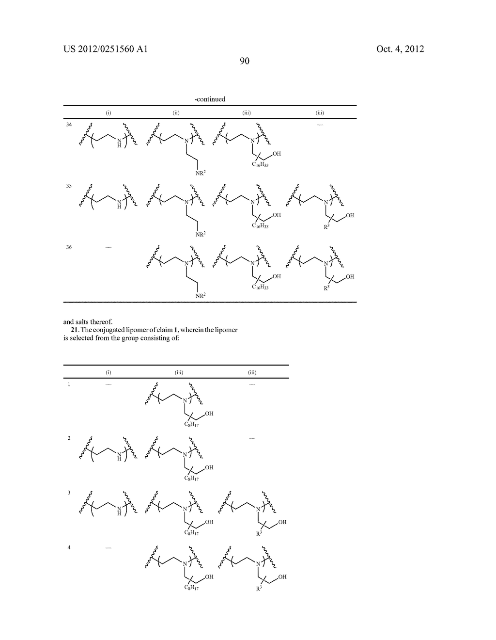 CONJUGATED LIPOMERS AND USES THEREOF - diagram, schematic, and image 126