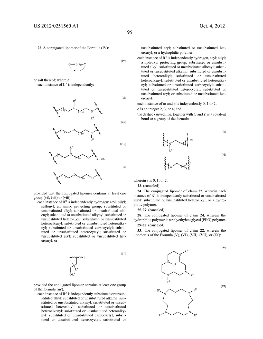CONJUGATED LIPOMERS AND USES THEREOF - diagram, schematic, and image 131