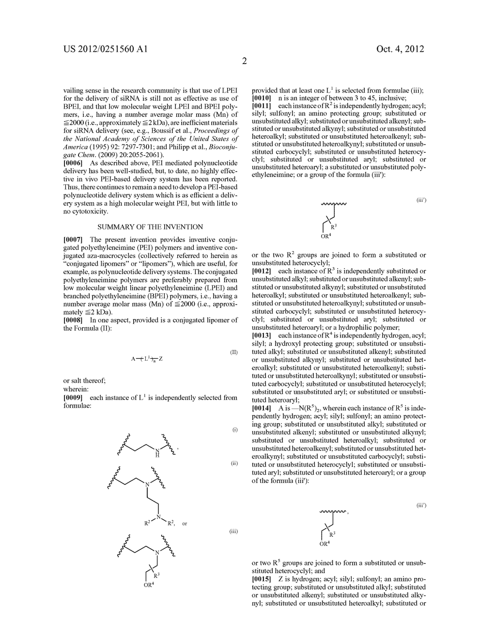 CONJUGATED LIPOMERS AND USES THEREOF - diagram, schematic, and image 38