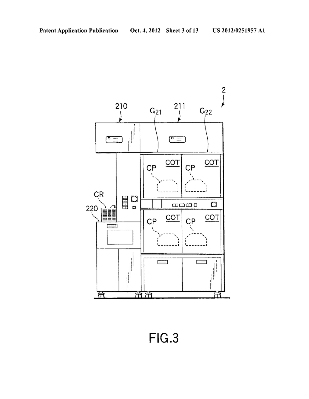 SUBSTRATE TRANSFER METHOD FOR PERFORMING PROCESSES INCLUDING     PHOTOLITHOGRAPHY SEQUENCE - diagram, schematic, and image 04
