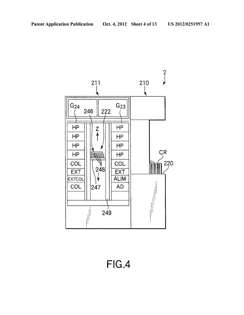 SUBSTRATE TRANSFER METHOD FOR PERFORMING PROCESSES INCLUDING     PHOTOLITHOGRAPHY SEQUENCE - diagram, schematic, and image 05