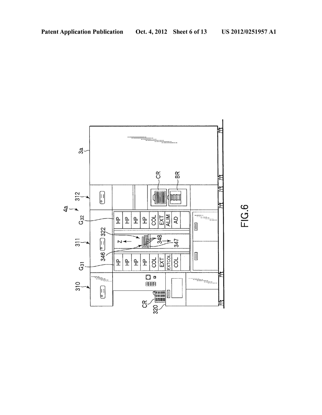 SUBSTRATE TRANSFER METHOD FOR PERFORMING PROCESSES INCLUDING     PHOTOLITHOGRAPHY SEQUENCE - diagram, schematic, and image 07